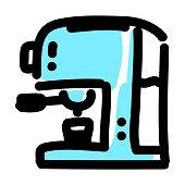 Espresso maker icon