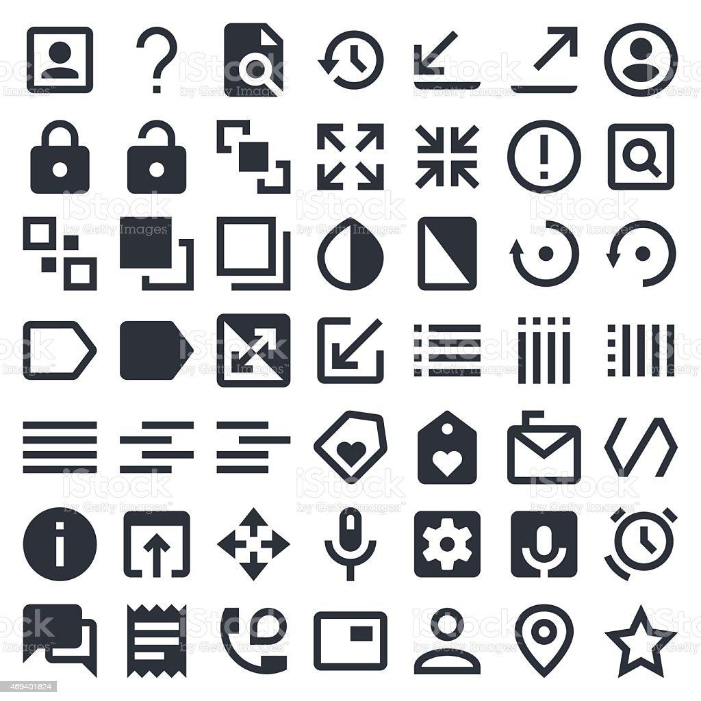 Essential icons set 3 | 49ers Series vector art illustration