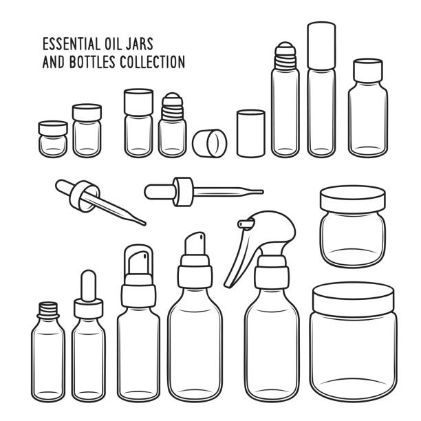 Top 60 Essential Oil Clip Art, Vector Graphics and
