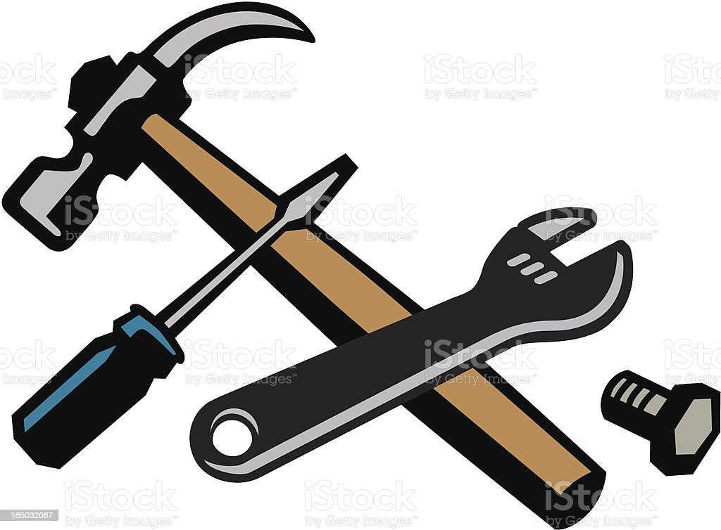 Essential tools royalty-free stock vector art
