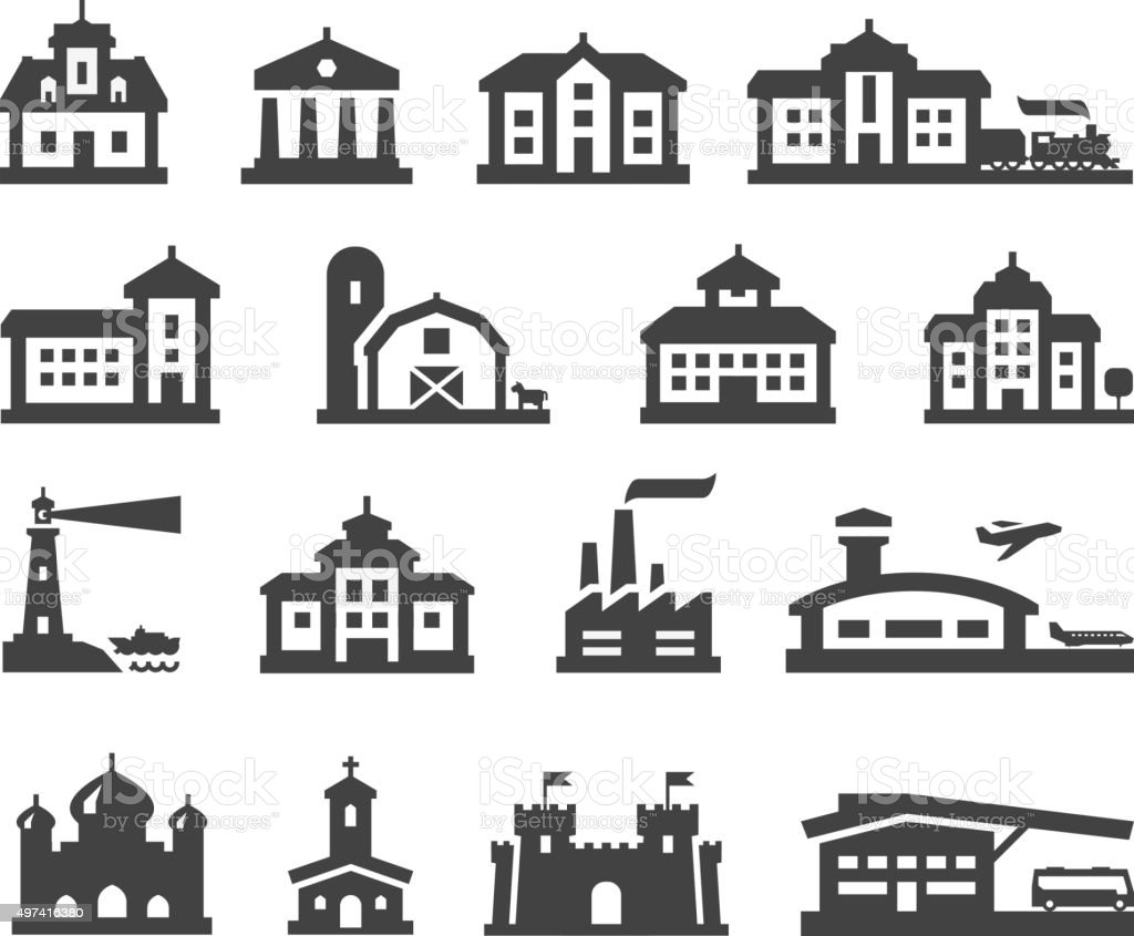 estate vector logo design template. house or building icons vector art illustration