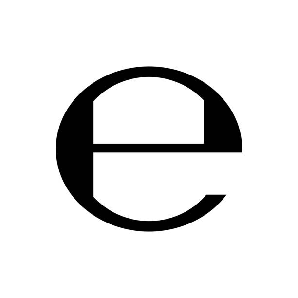 Estimated sign packaging symbol. Vector Estimated sign, packaging e symbol. Vector illustration european union currency stock illustrations