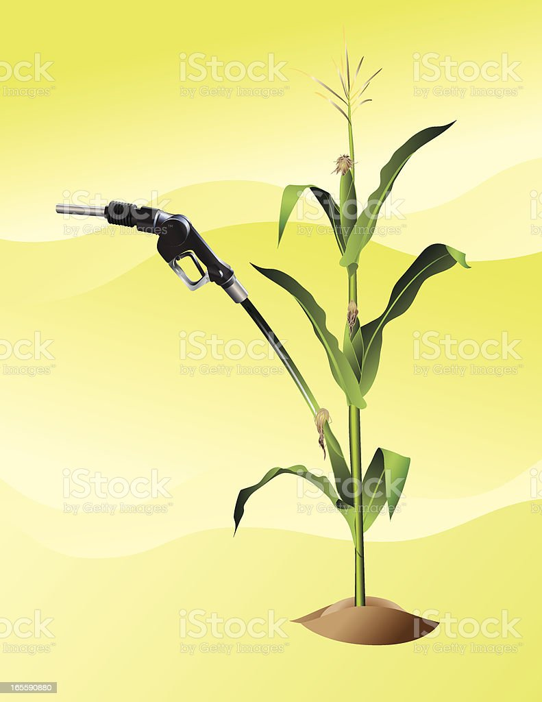 Ethanol royalty-free stock vector art
