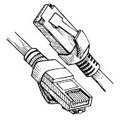Free Connector Rj45 icons & vector files