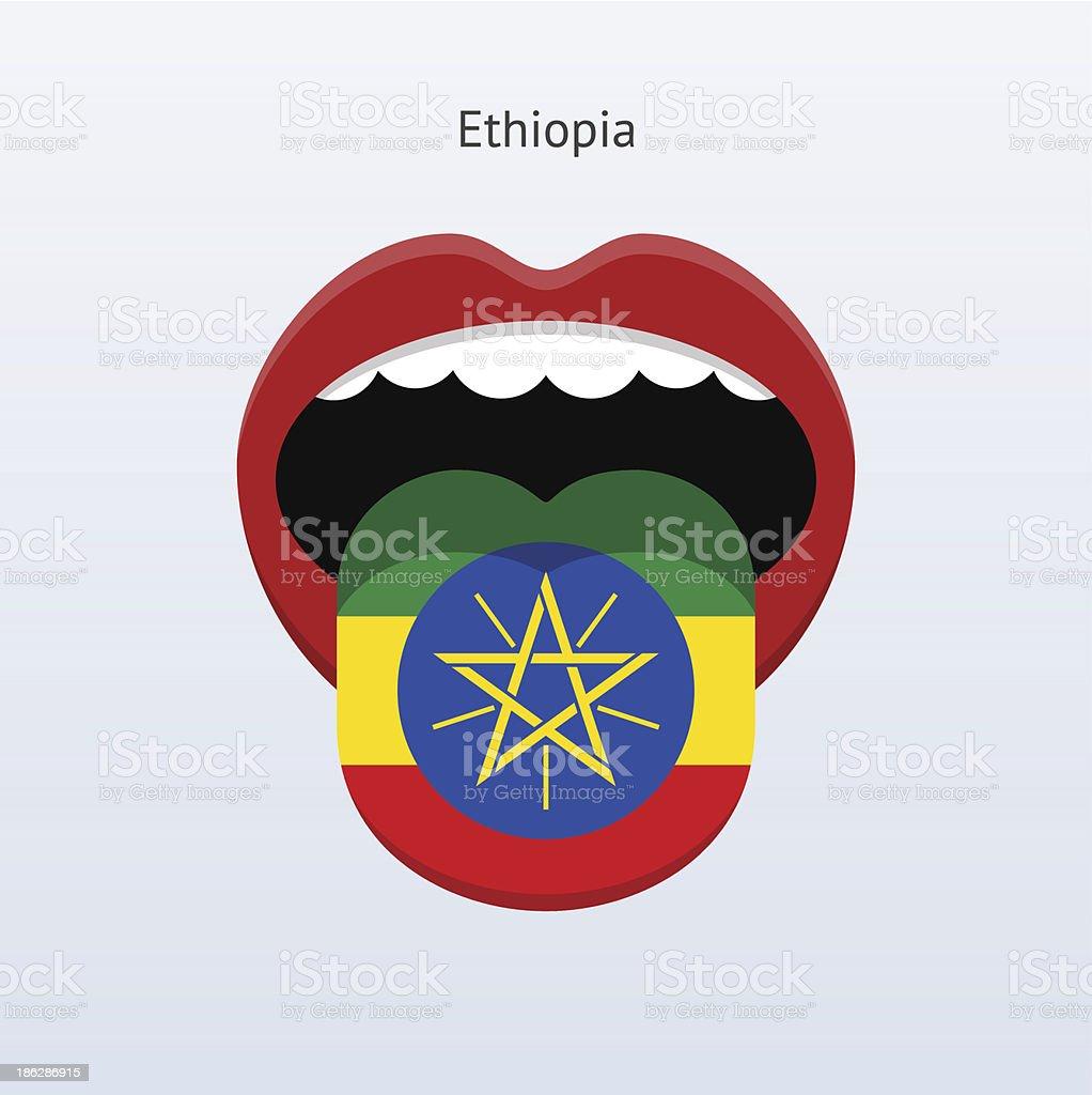 Ilustración de Etiopía Idioma Abstract Lengua Humana y más banco de ...