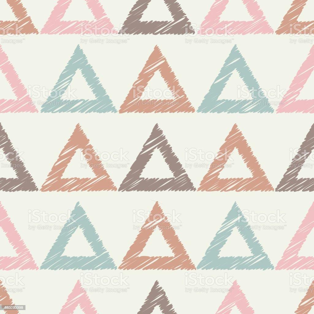 민족 boho 완벽 한 패턴입니다. 레트로 모티브입니다. royalty-free 민족 boho 완벽 한 패턴입니다 레트로 모티브입니다 기하에 대한 스톡 벡터 아트 및 기타 이미지