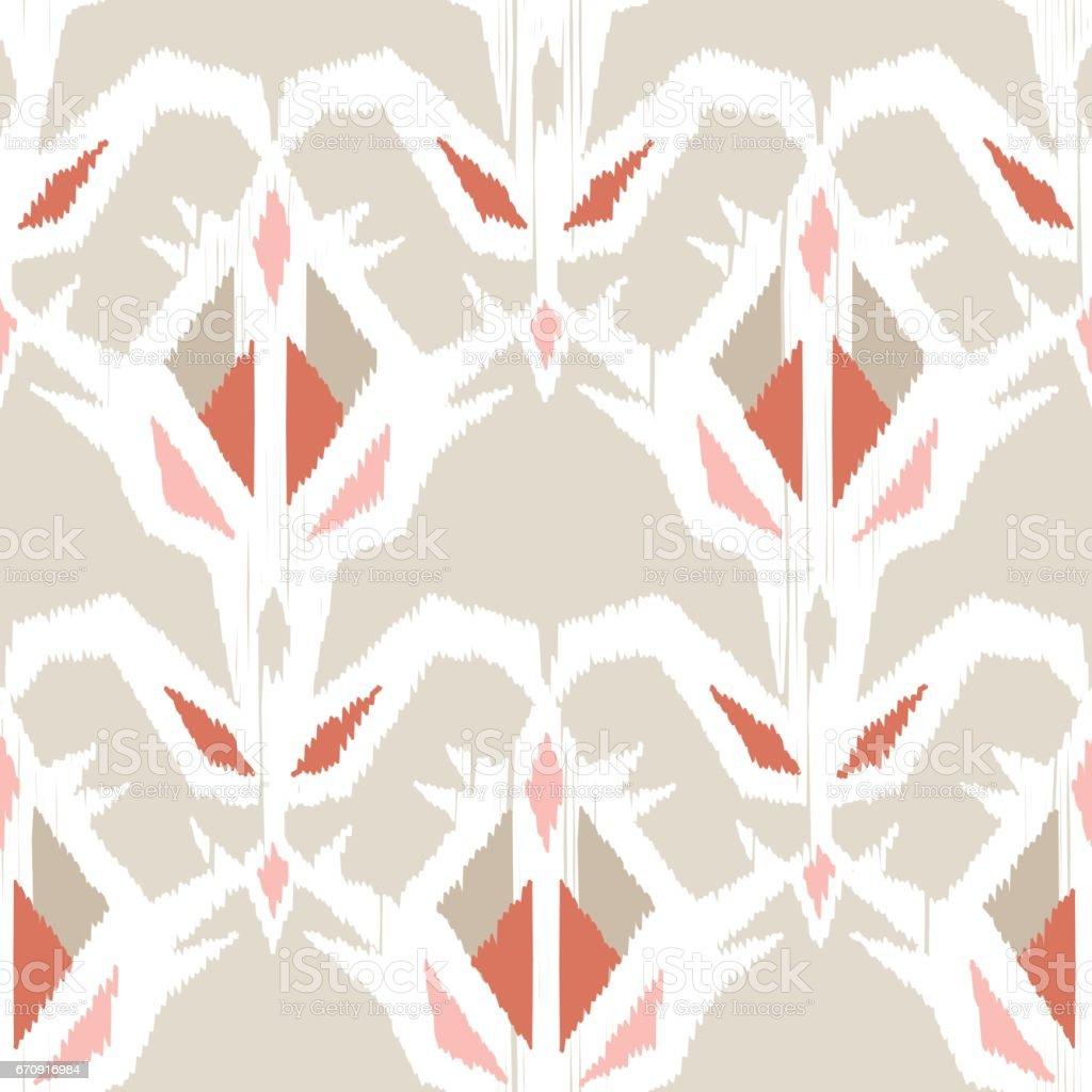 Ethnic boho seamless pattern. vector art illustration