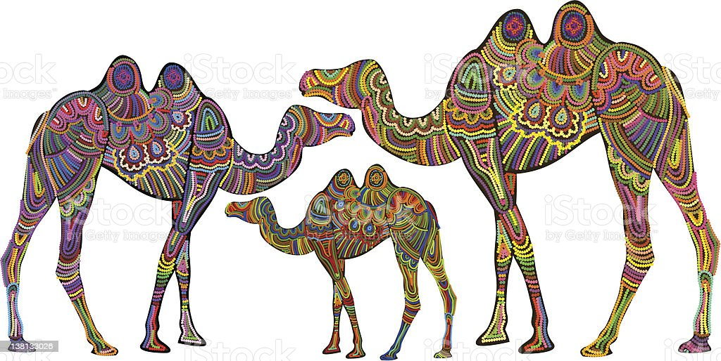 ethnic camels royalty-free ethnic camels stock vector art & more images of abstract