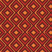 Bright ethnic tribal geometric seamless pattern. Included Ai