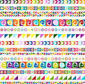 Ethnic handmade ornament, seamless pattern for your design