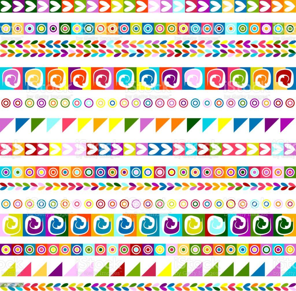 Ethnic handmade ornament, seamless pattern for your design vector art illustration