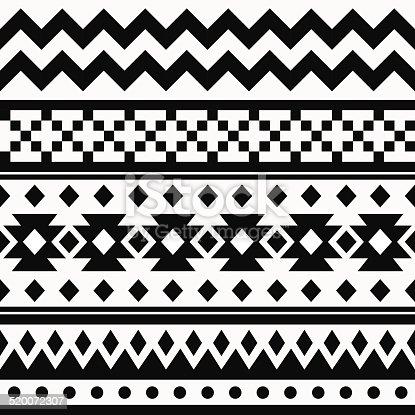 istock Ethnic ornamental seamless pattern 520072307