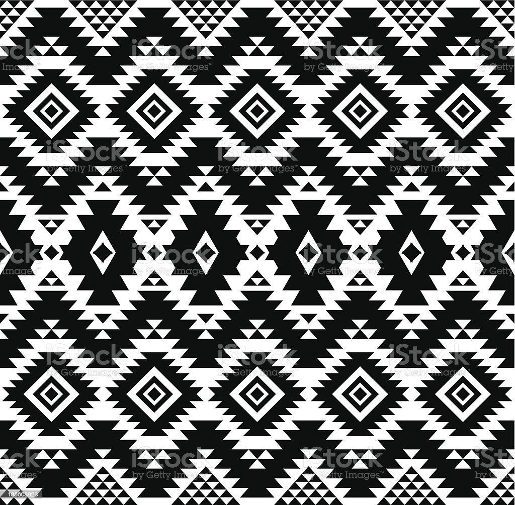 Patrón étnico - ilustración de arte vectorial