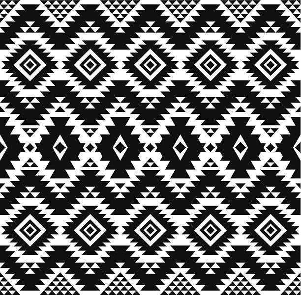 Ethnic pattern vector art illustration