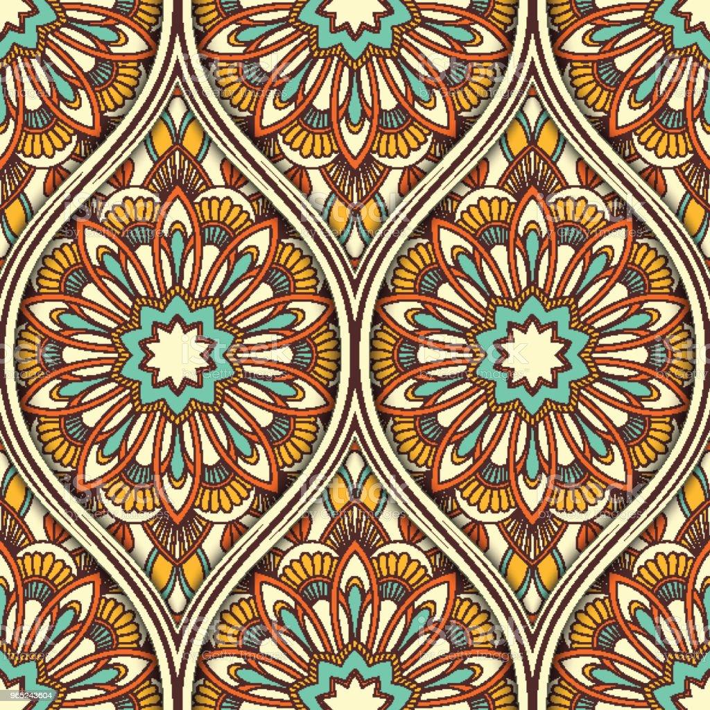Ethnic seamless pattern ethnic seamless pattern - stockowe grafiki wektorowe i więcej obrazów abstrakcja royalty-free