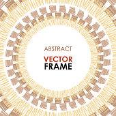 Ethnic vector frame