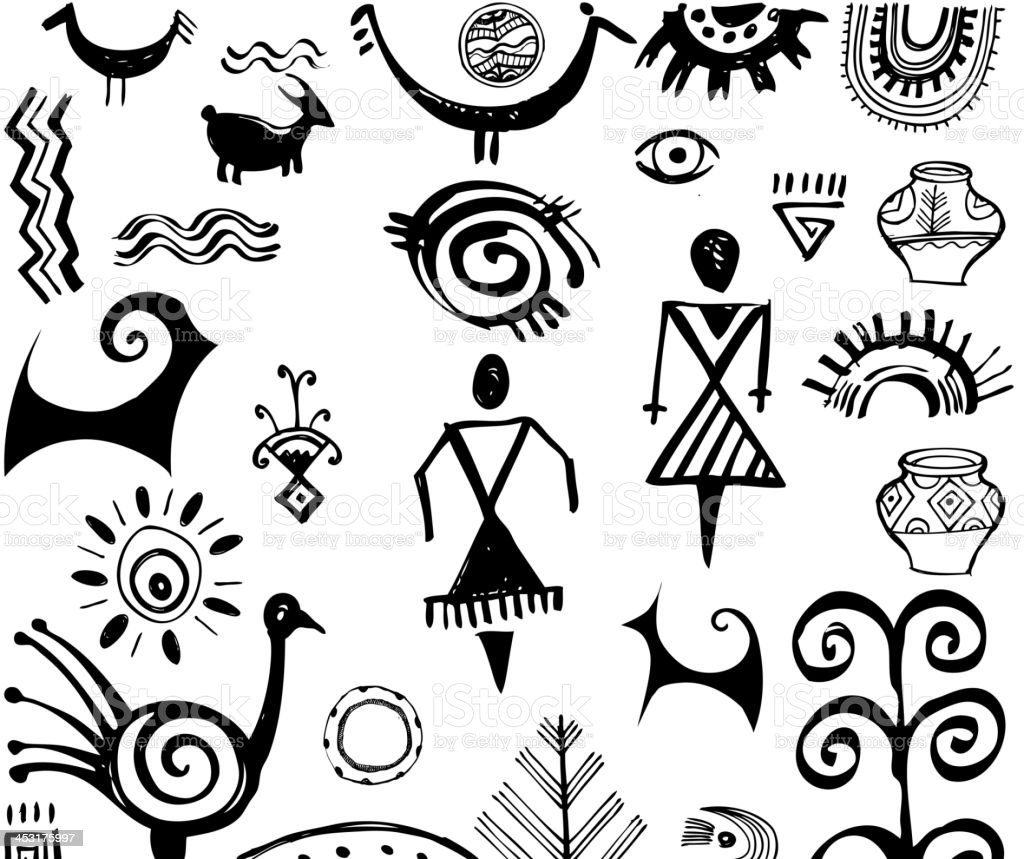 Ethnic royalty-free stock vector art