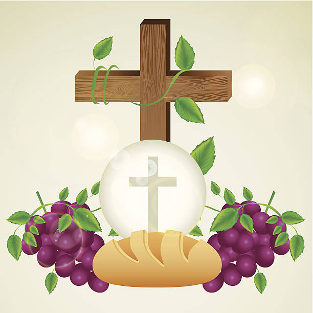 eucharistic sakrament - kommunion stock-grafiken, -clipart, -cartoons und -symbole