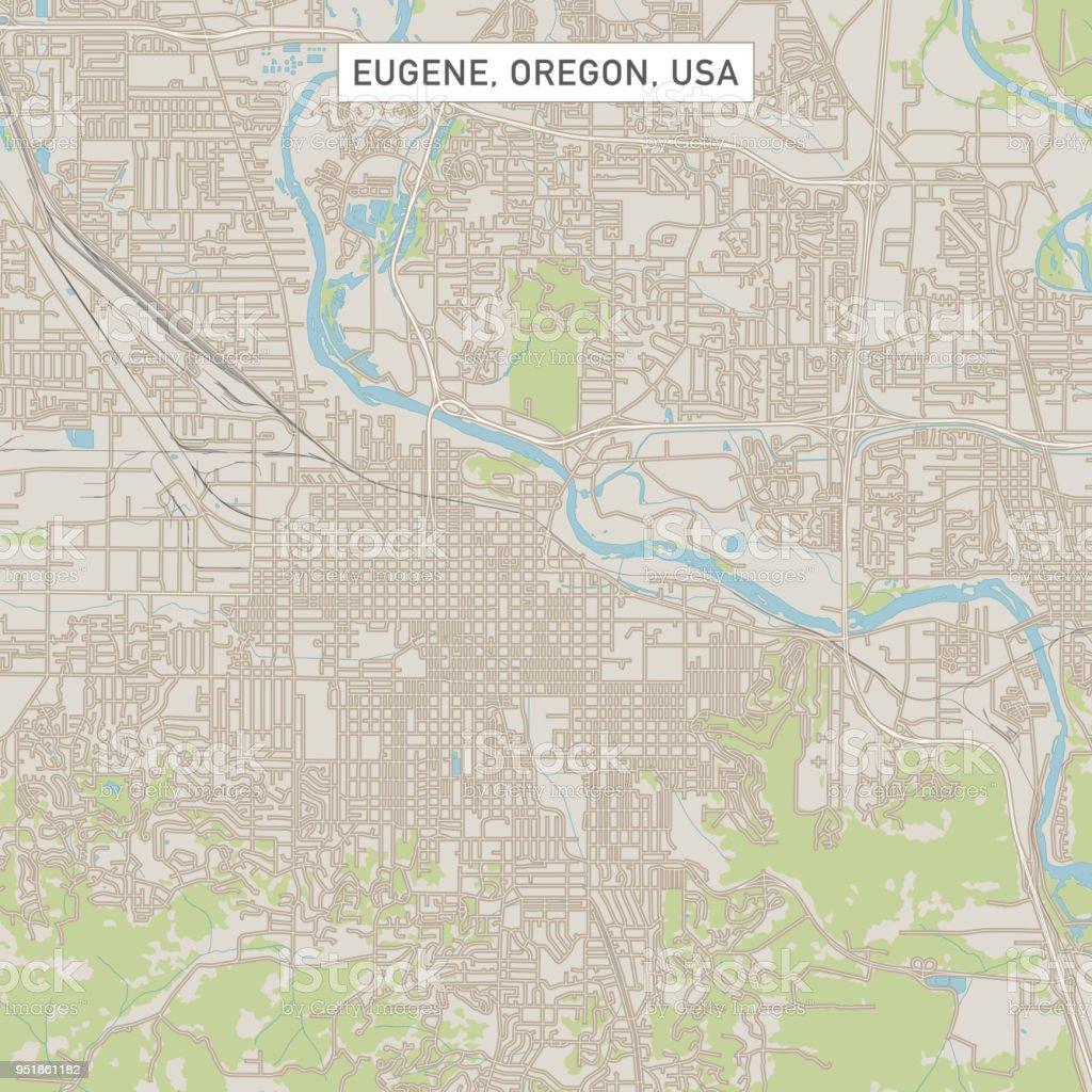 Eugene Oregon Us City Street Map Stock Illustration ... on phoenix arizona map, dalles oregon map, oregon coast map, corvallis oregon map, washington map, university of oregon map, grants pass oregon map, astoria oregon map, cottage grove oregon map, beaverton oregon map, salem oregon map, oregon state map, scio oregon map, medford oregon map, central oregon map, florence oregon map, coos bay oregon map, blue river oregon map, albany oregon map, lane county oregon map,