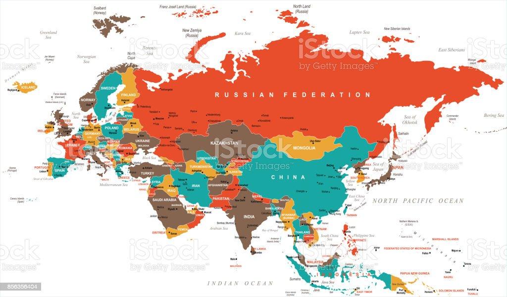 Eurasia europa russia china india indonesia thailand map vector eurasia europa russia china india indonesia thailand map vector illustration royalty free eurasia europa gumiabroncs Choice Image