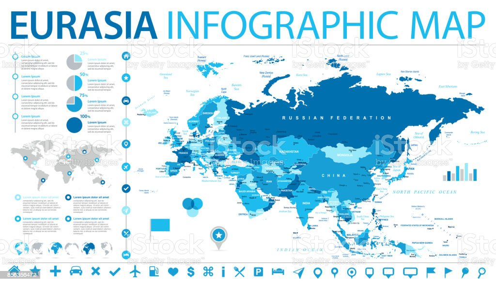 Eurasia europa russia china india indonesia thailand map vector eurasia europa russia china india indonesia thailand map vector illustration royalty free eurasia europa gumiabroncs Images
