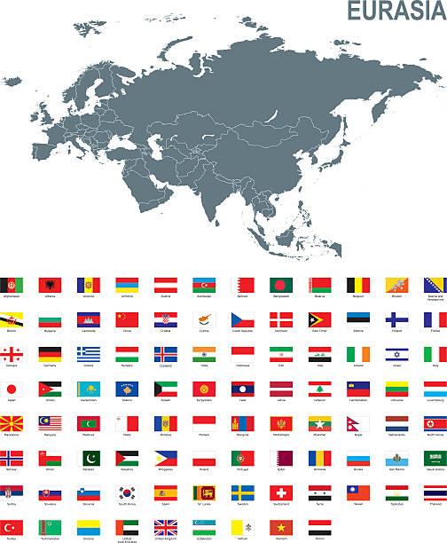 Eurasia – Vektorgrafik