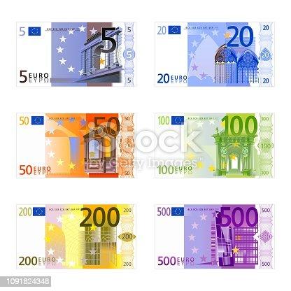 istock Euro banknotes 1091824348