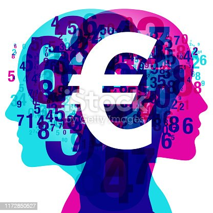 istock Euro - Mind Numbers & Currency Symbol 1172850527