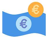 euro money vetcor illutration