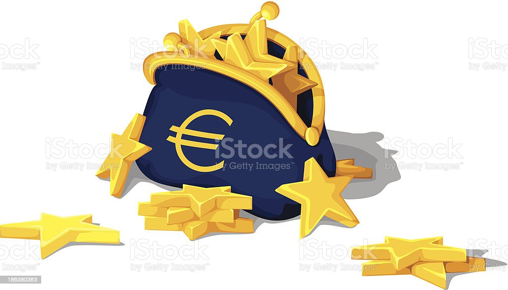euro purse money royalty-free euro purse money stock vector art & more images of agreement