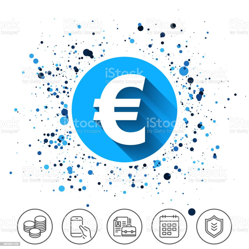 Euro Sign Icon Eur Currency Symbol Stock Vector Art More Images Of