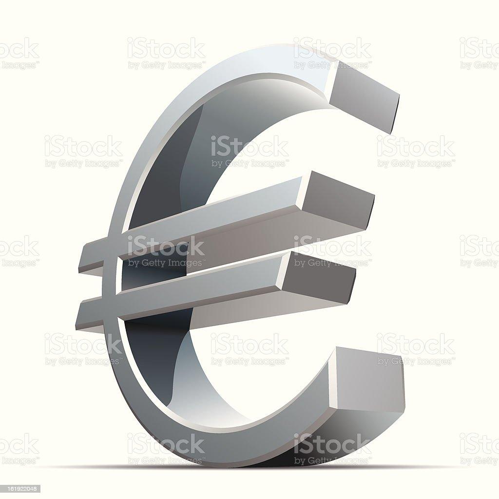 Euro royalty-free stock vector art