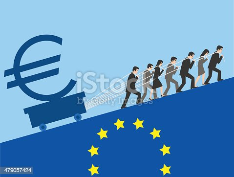 The European Union is making great efforts to maintain the euro.
