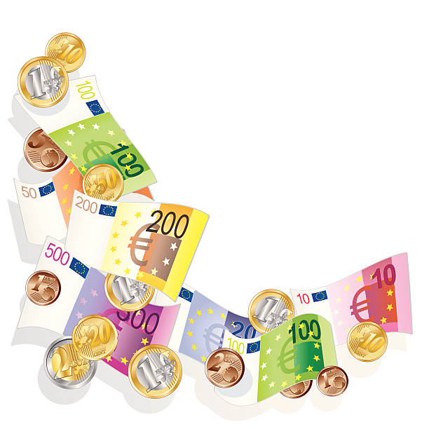 Währung euro - Illustration vectorielle