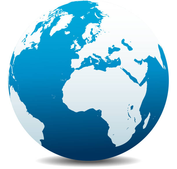 europe and africa, global world - 阿爾及利亞 幅插畫檔、美工圖案、卡通及圖標