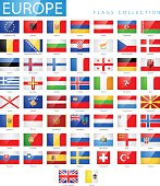 European Flags Full Collection
