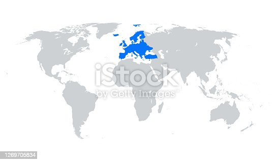 vector of Europe map