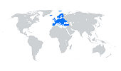 istock Europe map 1269705834