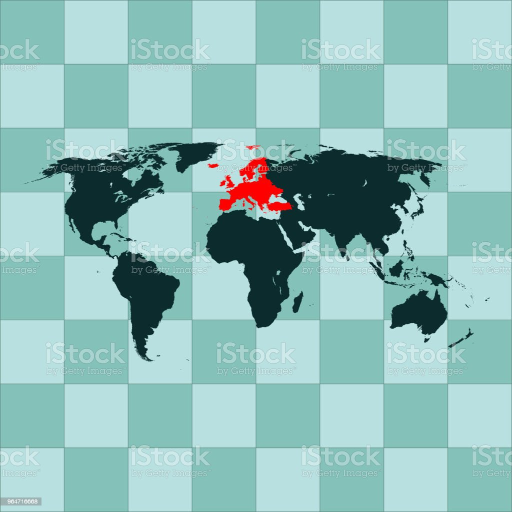 Europe  map royalty-free europe map stock vector art & more images of cartography