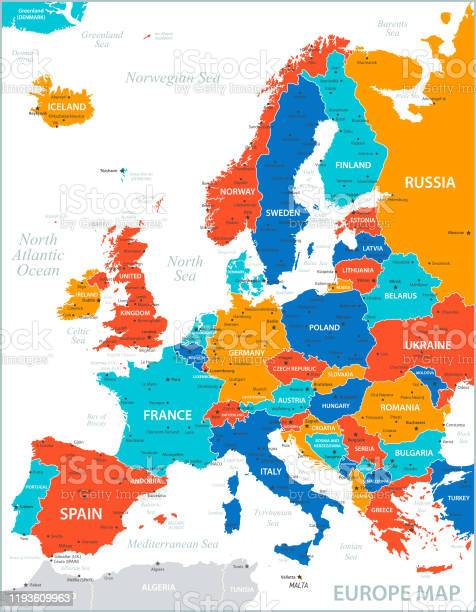 地図 ヨーロッパ