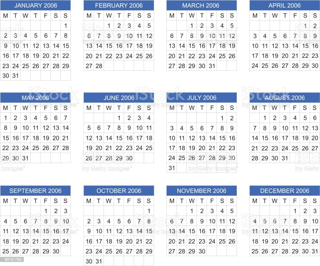 Kalender 2006 Dezember
