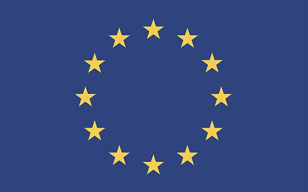 european flag vector european flag vector euro symbol stock illustrations