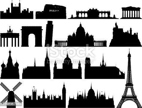 European monuments.