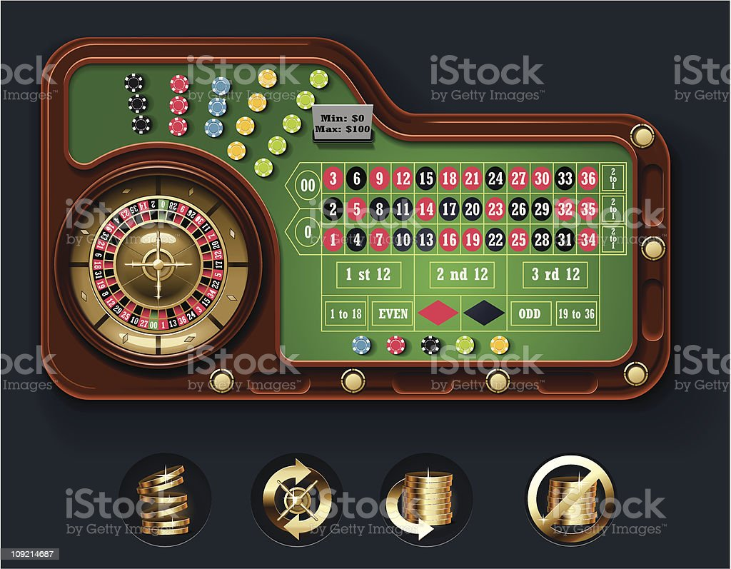European roulette table layout royalty-free european roulette table layout stock vector art & more images of backgrounds