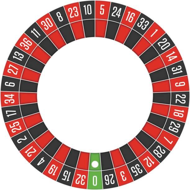 ilustrações de stock, clip art, desenhos animados e ícones de european roulette wheel. - enjoying wealthy life