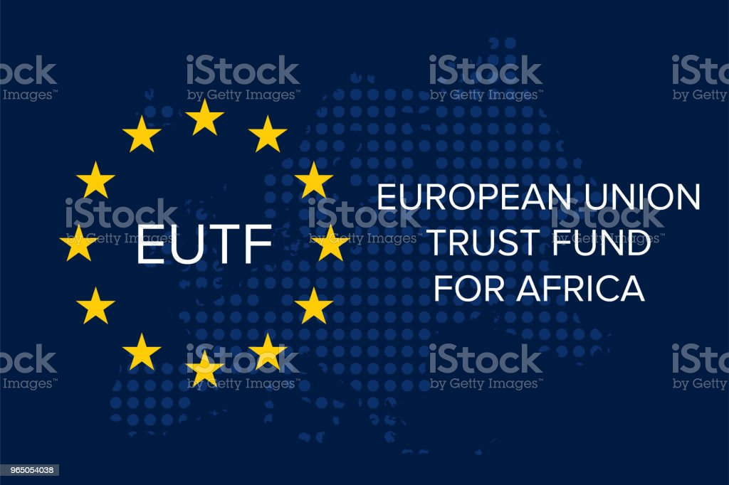 European Union Emergency Trust Fund for Africa (EUTF) royalty-free european union emergency trust fund for africa stock vector art & more images of accidents and disasters