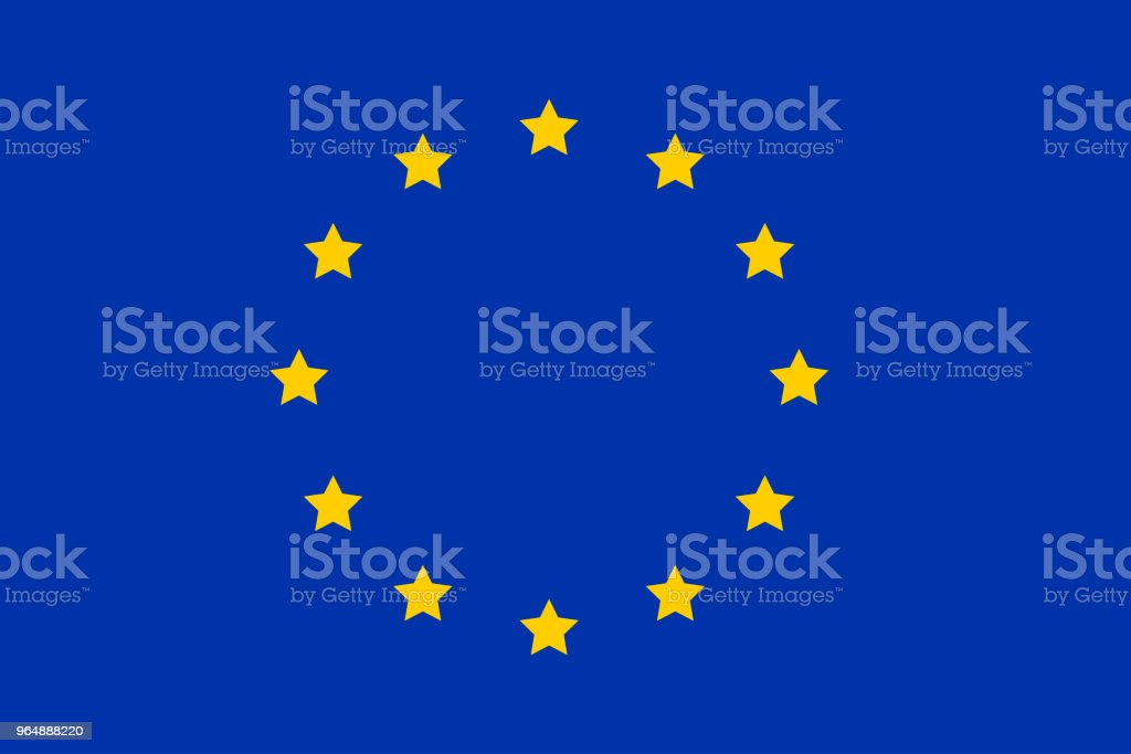 European Union flag. EU flag vector royalty-free european union flag eu flag vector stock vector art & more images of banner - sign