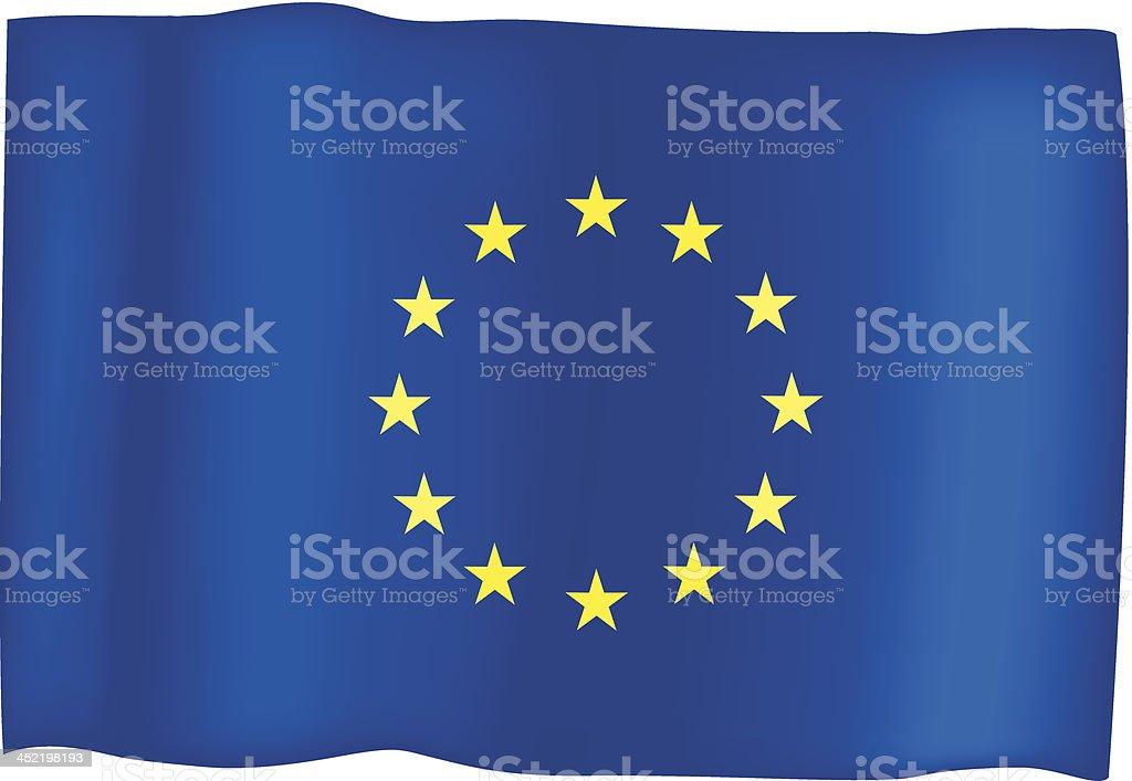 European Union Flag royalty-free european union flag stock vector art & more images of clip art