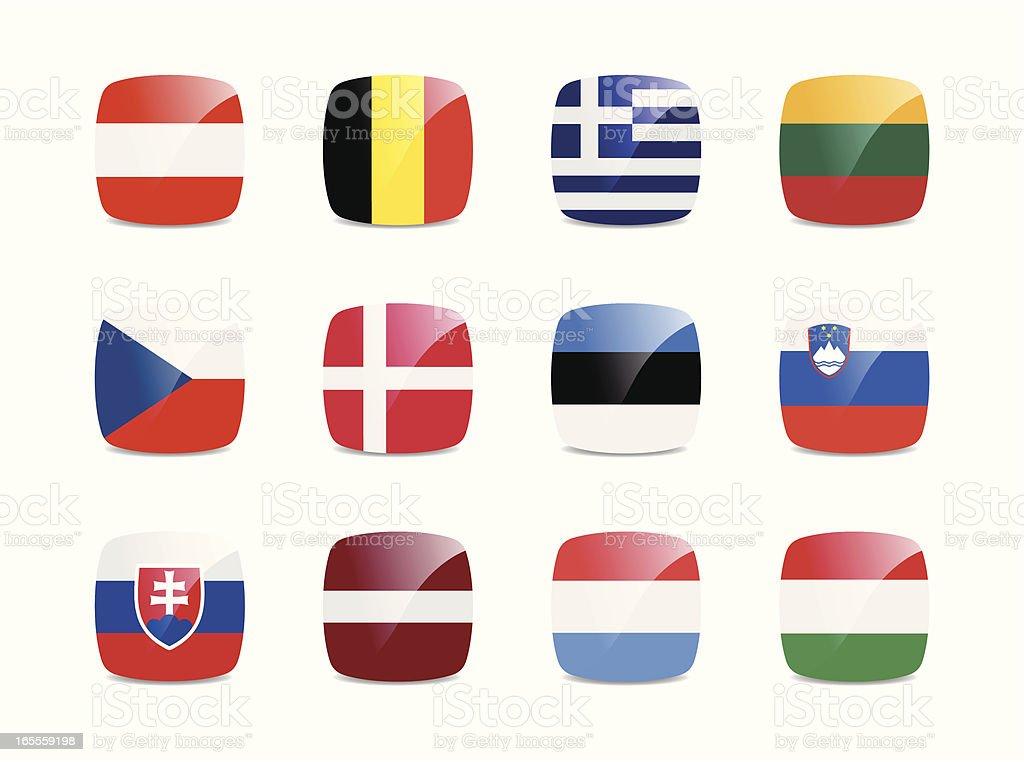 European Union Flags royalty-free european union flags stock vector art & more images of austria