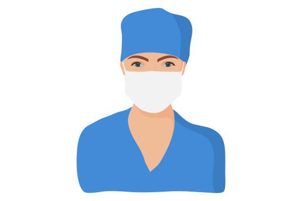 ilustrações, clipart, desenhos animados e ícones de enfermeira branca européia - enfermeira
